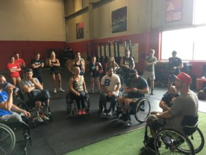 adaptive athlete competition workout
